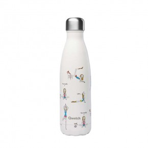 Insulated Stainless Steel Bottle - Yoga - 500ml