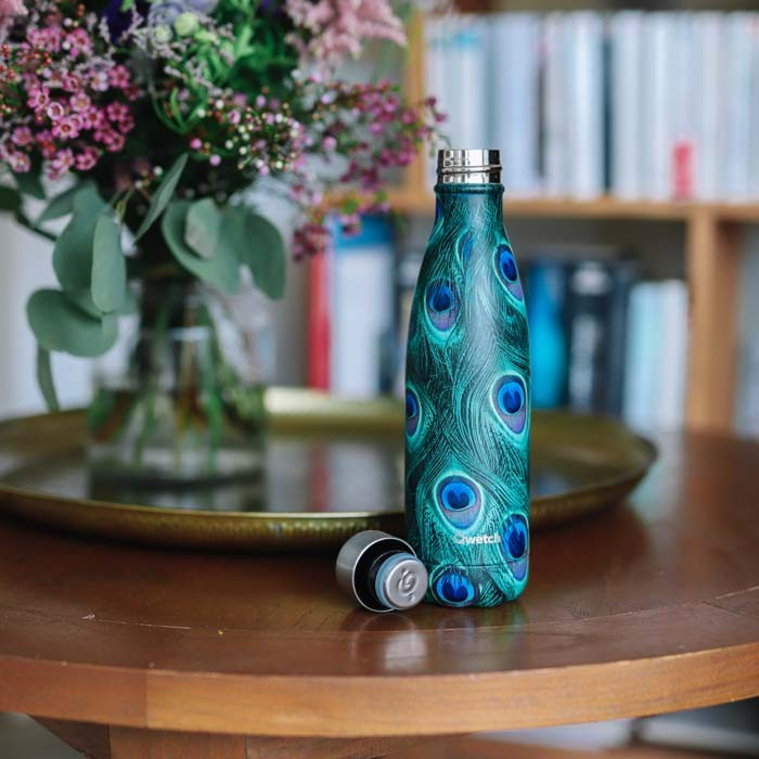 Insulated Stainless Steel Bottle - Paon Green - 500ml