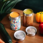 Insulated Stainless Steel Food Jars - Wood & Arty