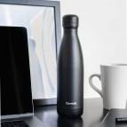Insulated Stainless Steel Bottle - All Black - 500ml
