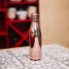 Insulated Stainless Steel Bottle - Rose Gold Metallic - 500ml