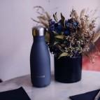 Insulated Stainless Steel Bottle - Granite Midnight Blue - 260ml