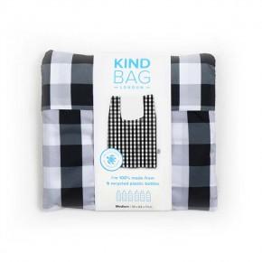 Medium Reusable Shopping Bag - Gingham