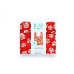 Mini Reusable Shopping Bag - Daisy