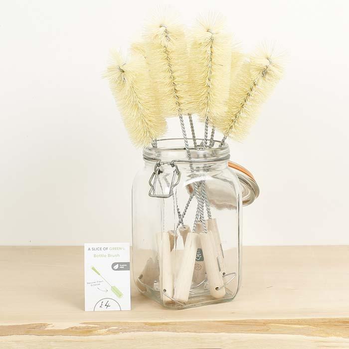 Wooden Bottle Brush - Plant Based Bristles