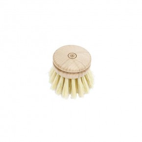 Wooden Head For Dish Brush - Plant Based Bristles