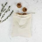 Organic Cotton Produce Bag - Medium (26 x 32cm) - Bulk