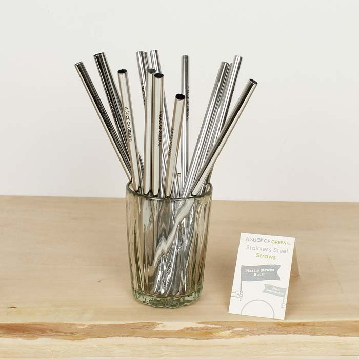 Stainless Steel Straws - Bulk