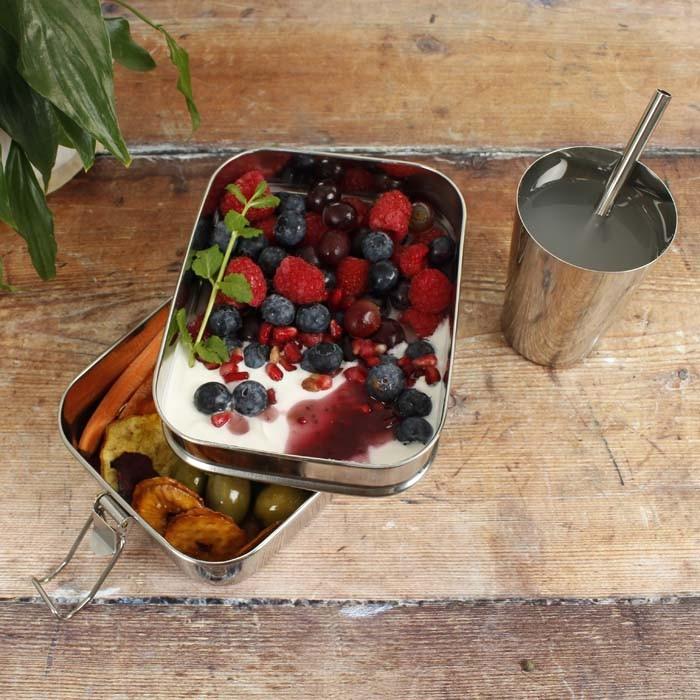 Buruni - Leak Resistant Two Tier Lunch Box